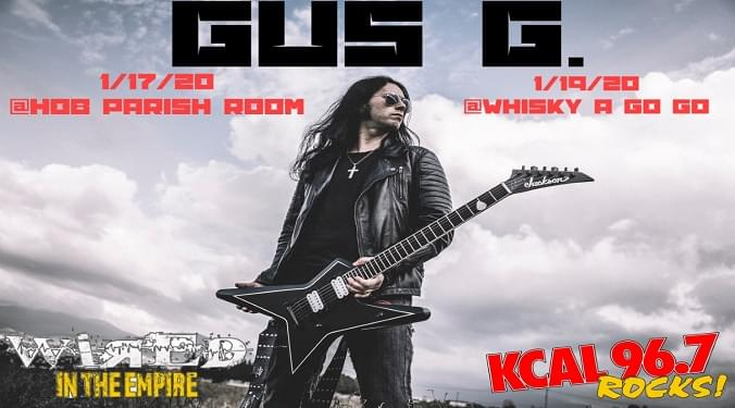(LISTEN) Former Ozzy Osbourne guitarist Gus G talks to Mike Z-Wired In The Empire