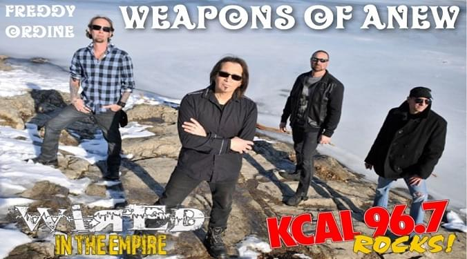 (LISTEN) Weapons Of Anew guitarist Freddy Ordine talks to Mike Z-Wired In The Empire