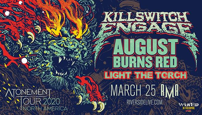 Killswitch Engage at the RMA