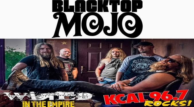 (LISTEN) Blacktop Mojo singer Matt James talks to Mike Z-Wired In The Empire