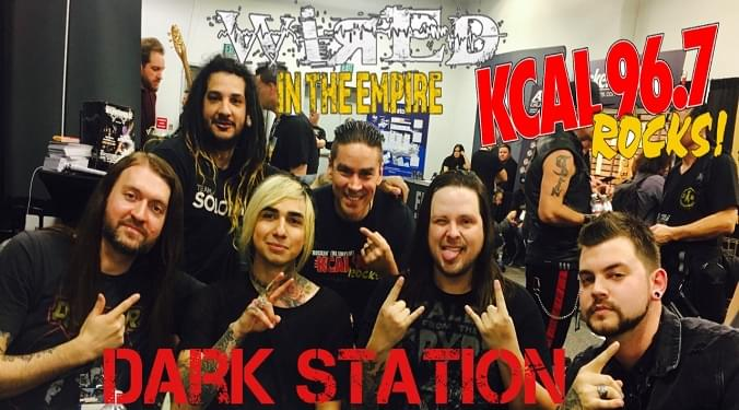 (LISTEN) Dark Station singer Nathan Spade talks to Mike Z-Wired In The Empire