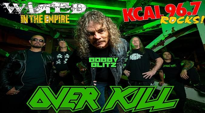 (LISTEN) Overkill singer Bobby Blitz talks to Mike Z-Wired In The Empire