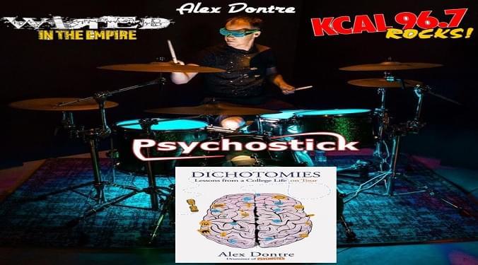 (LISTEN) Psychostick drummer Alex Dontre talks to Mike Z-Wired In The Empire