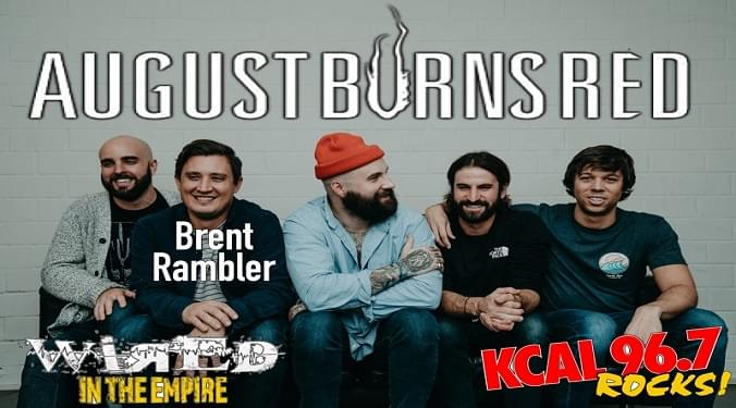 (LISTEN) August Burns Red guitarist Brent Rambler talks to Mike Z-Wired In The Empire