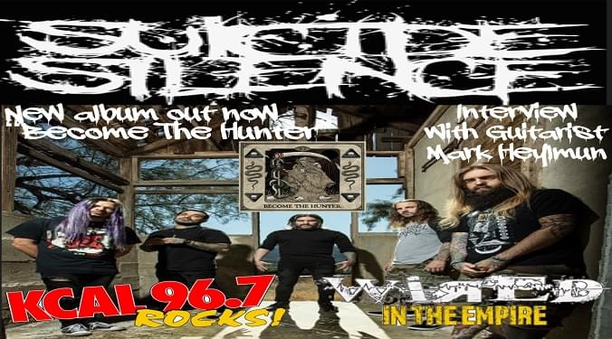 (LISTEN) Riverside's: Suicide Silence guitarist Mark Heylmun talks to Mike Z-Wired In The Empire