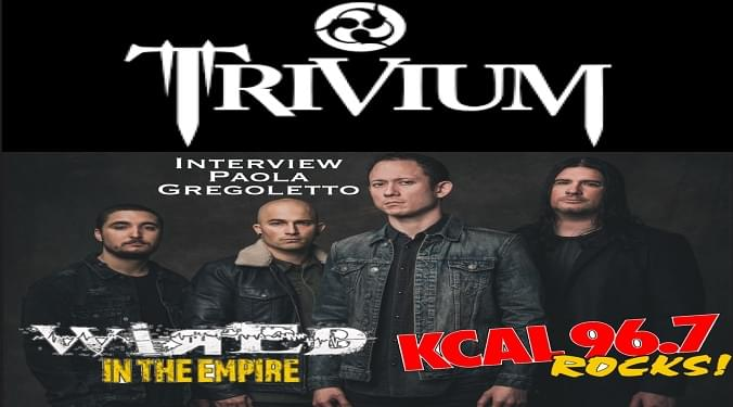 (LISTEN) Trivium bassist Paolo Gregoletto talks to Mike Z-Wired In The Empire