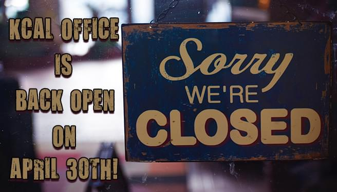 We're Closed…Temporarily