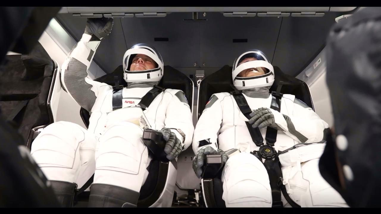 SpaceX Astronauts Blast AC/DC Pre-Launch,  Wake Up to Black Sabbath in Space