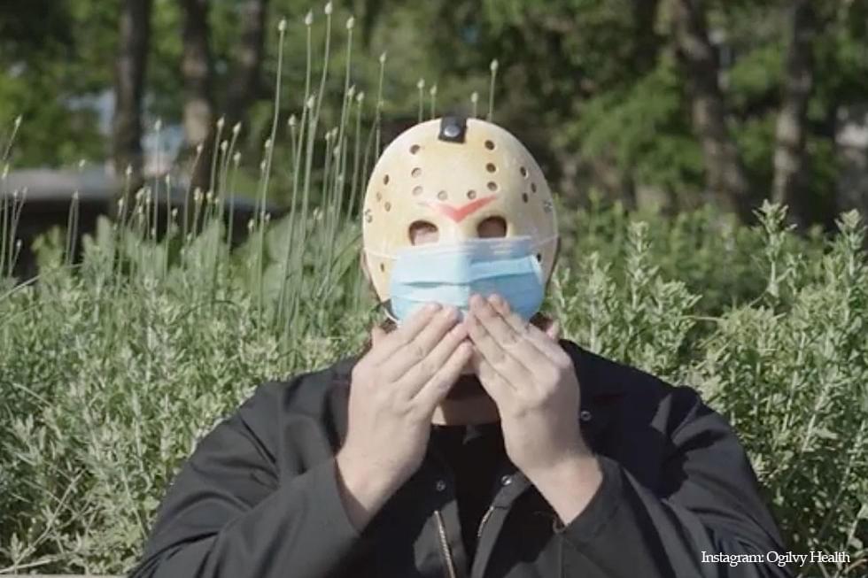 """Watch Horror Villain Jason Voorhees in Funny """"Wear a Mask"""" PSA"""