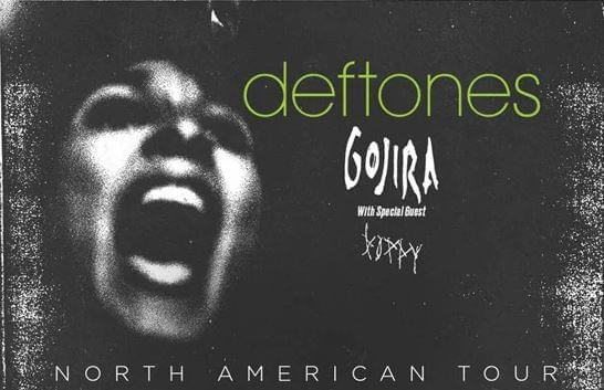 Deftones, Gojira, Poppy Announce 2021 Rescheduled Tour