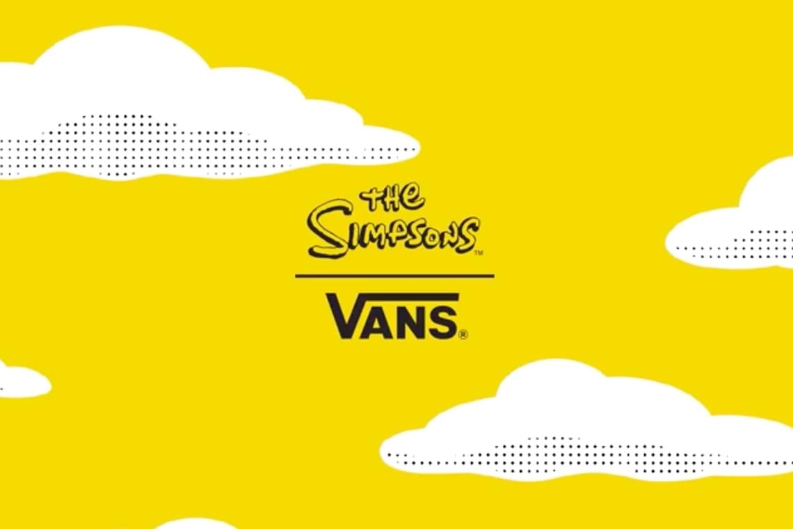 Vans Announce New Collaboration With The Simpsons
