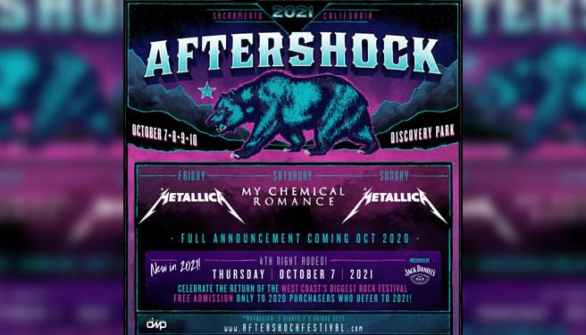 Aftershock Festival – 2021