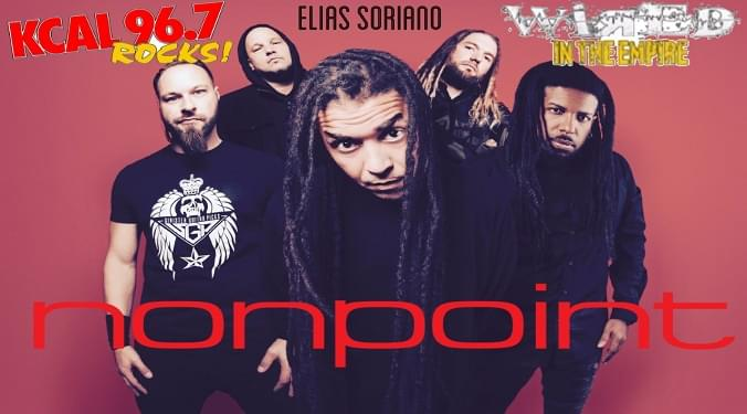 (LISTEN) Nonpoint singer Elias Soriano talks to Mike Z-Wired In The Empire
