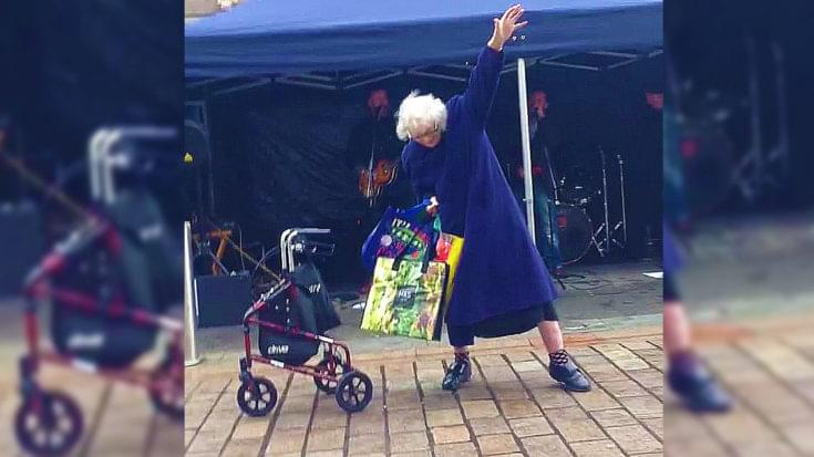 Watch Granny Jam to AC/DC Cover Band