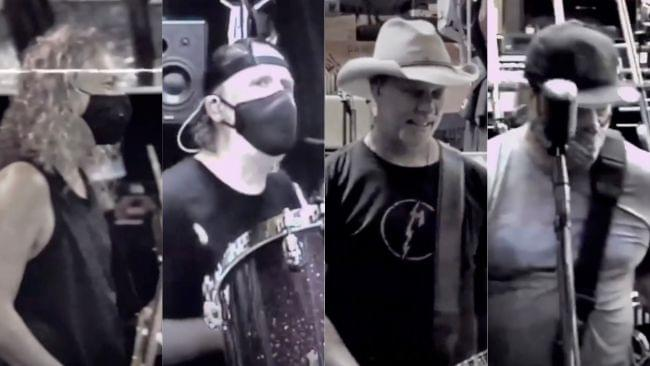 Watch Metallica Rehearsing Together in Newly Released Creeping Death Clip