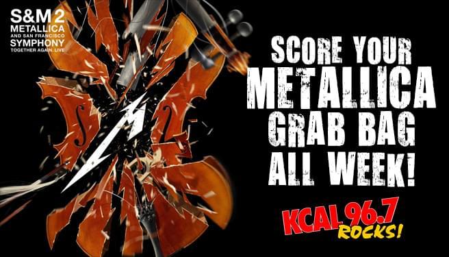 Metallica Grab Bag Giveaway