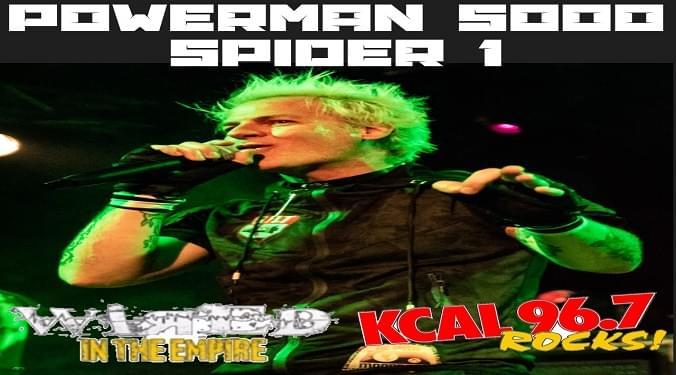 (LISTEN) Powerman 5000's Spider 1 talks to Mike Z-Wired In The Empire