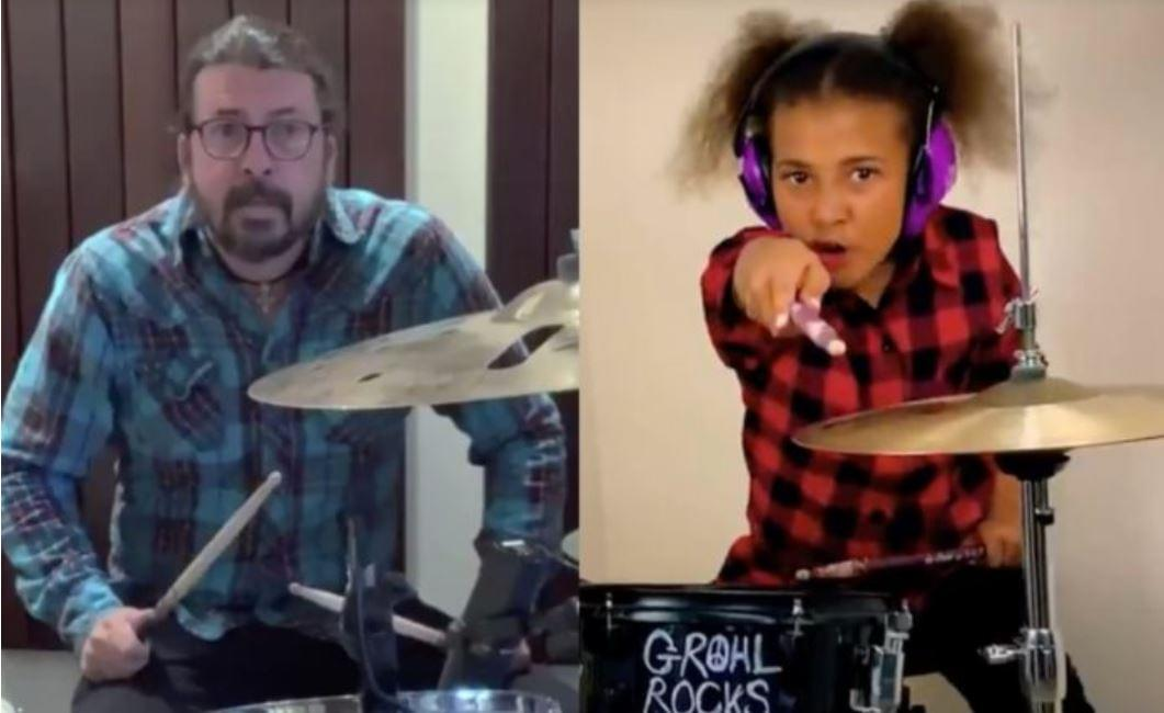 Round 2: Dave Grohl Wrote a Theme Song for 10-Year-Old Nandi Bushell