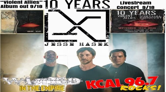 (LISTEN) 10 Years singer Jesse Hasek talks to Mike Z-Wired In The Empire