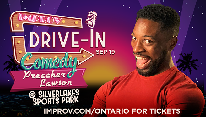 Drive-In Comedy at Silverlakes Sports Park