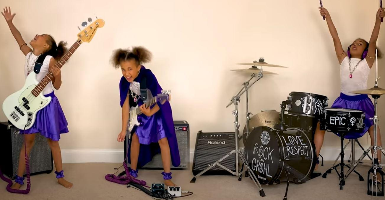 Watch 10-Year-Old Drummer Nandi Bushell Perform Original Dave Grohl Theme Song
