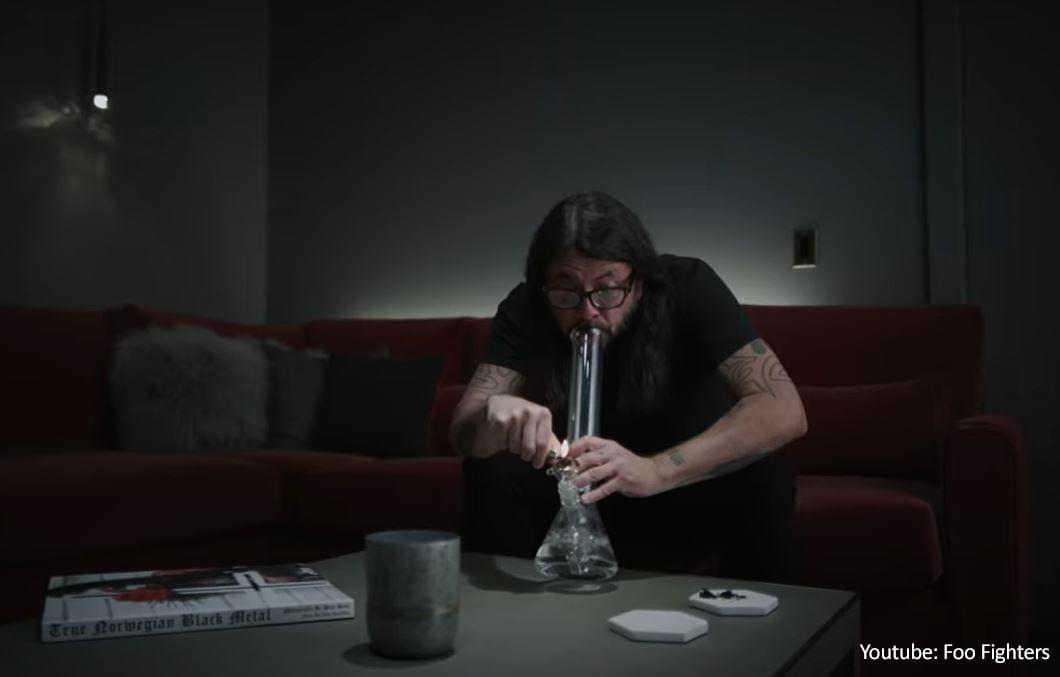Watch Dave Grohl Kick Caffeine Addiction in Spoof Ad