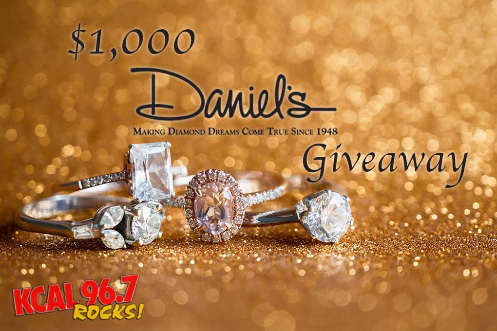 $1,000 Daniel's Jewelers Gift Card