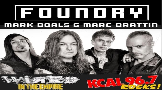 (LISTEN) Foundry singer Boals and drummers Marc talk to Mike Z-Wired In The Empire