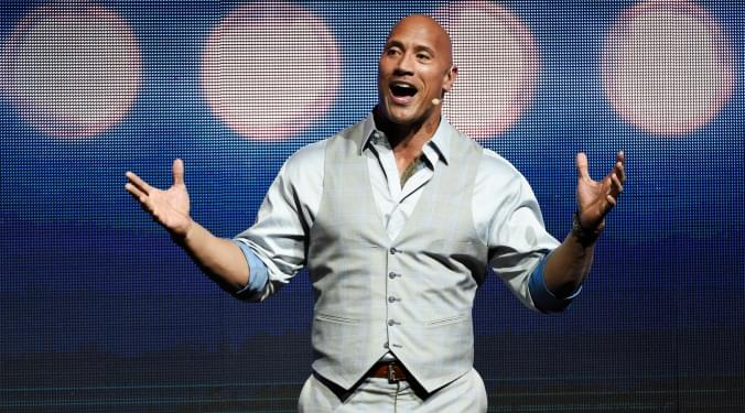 What's 'The Rock' cookin' now? | Vic Slick |