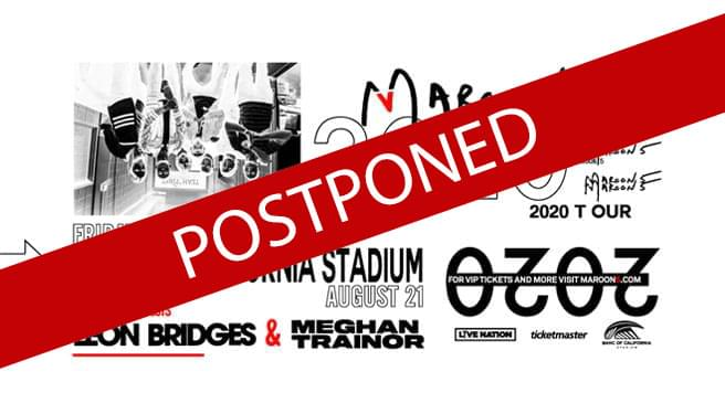 POSTPONED: Maroon 5