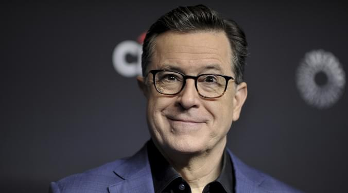 Colbert brought to tears | Vic Slick |