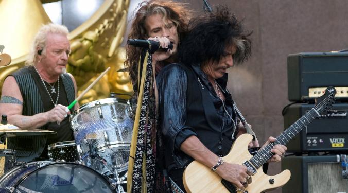 Aerosmith and Harley Davidson Team Up | Donna D |