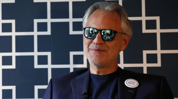 Bocelli back on tour | Vic Slick |