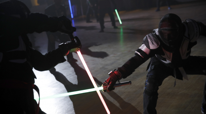 Disney to make real life lightsaber | Vic Slick |