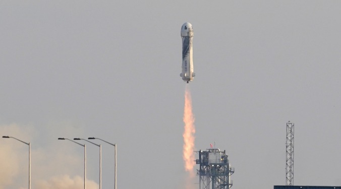 Bezos Blasts off Into Space | Donna D |