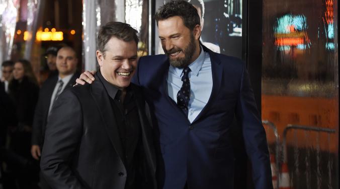 Matt Damon and Ben Affleck Team Up Again! | Loren |
