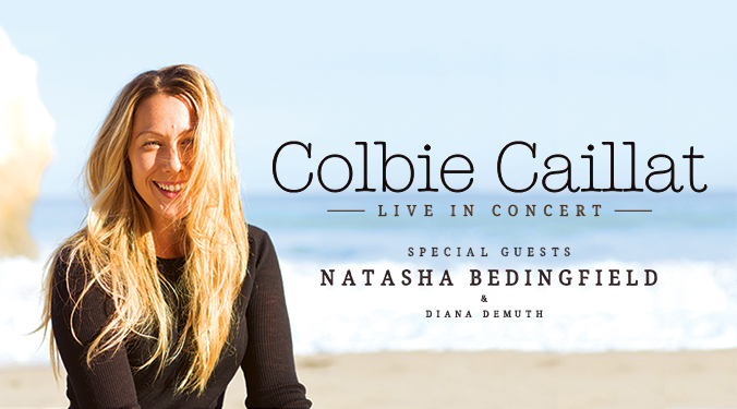 Win Tickets to see Colbie Caillat with Natasha Bedingfield!
