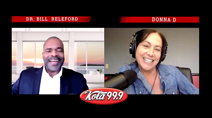 Donna D's Interview with Dr. Bill Releford – COVID Vaccination