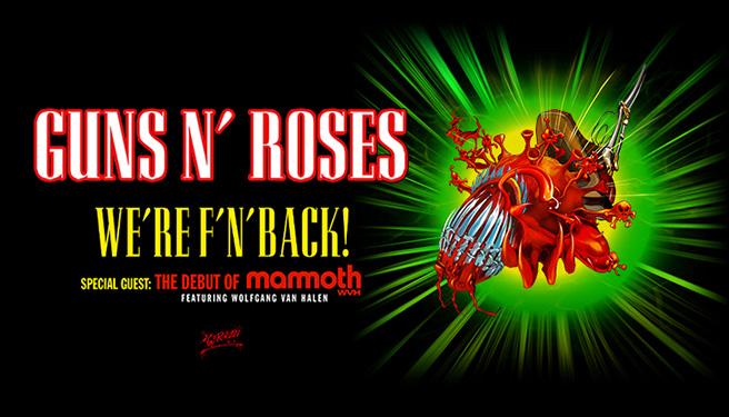 Guns N Roses @ Banc of California Stadium