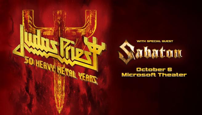 Judas Priest @ Microsoft Theater