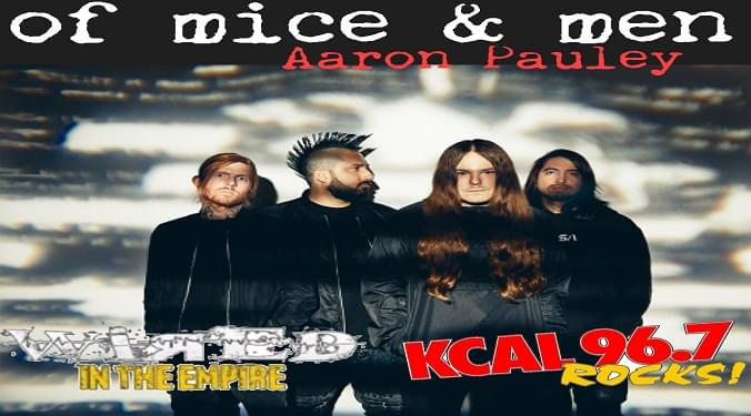 (LISTEN) Of Mice & Men Aaron Pauley talks to Mike Z-Wired In The Empire