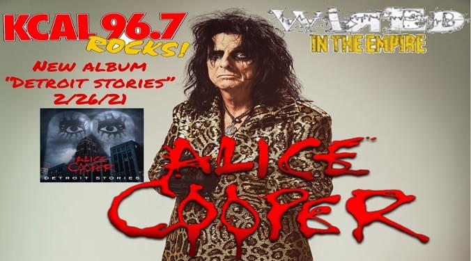 (LISTEN) Alice Cooper talks to Mike Z-Wired In The Empire