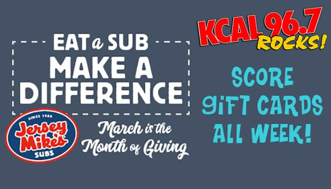 Week Give – $25 Jersey Mike's Gift Card