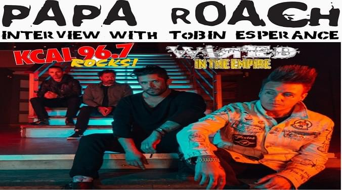 (LISTEN) Papa Roach bassist Tobin Esperance talks to Mike Z-Wired In The Empire