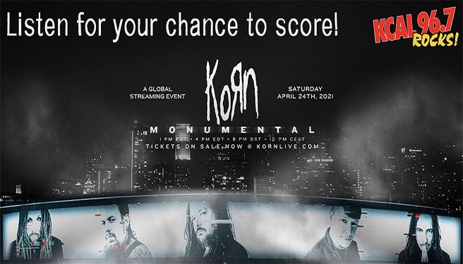 Korn: Monumental – A Global Streaming Event on April 24th