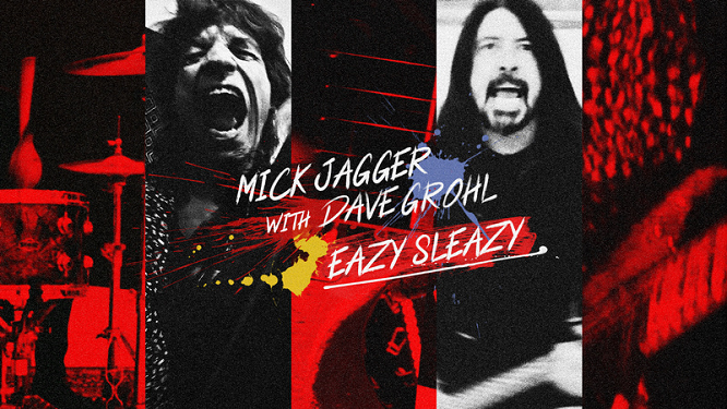 FRANK-O'S NEW MUSIC STASH ON 4/13: MICK JAGGER w/ DAVE GROHL