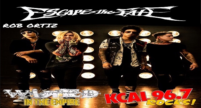 (LISTEN) Escape The Fate drummer Rob Ortiz talks to Mike Z-Wired In The Empire