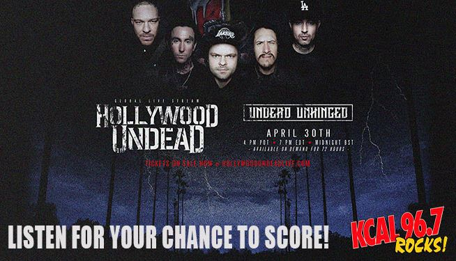 Hollywood Undead: Unhinged on April 30th