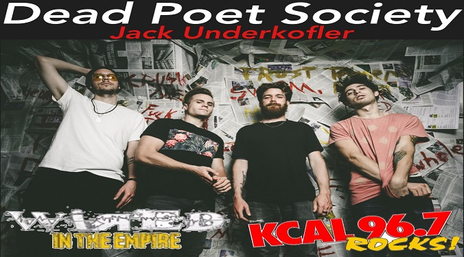 (LISTEN) Dead Poet Society singer Jack Underkofler talks to Mike Z-Wired In The Empire