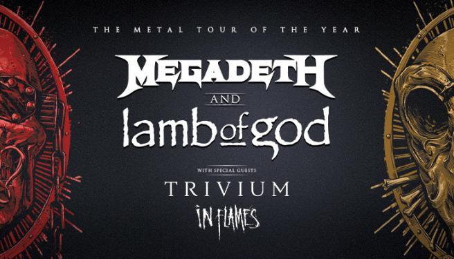 Megadeth & Lamb Of God @ FivePoint Amphitheatre